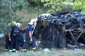 Węgry: Wypadek autobusu. Osiem osób zginęło, prawie 50 jest rannych