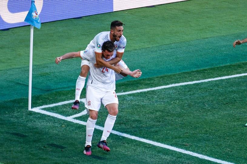 Węgrzy po zdobyciu gola z Niemcami na Euro 2020 /ZUMA/NEWSPIX.PL /Newspix