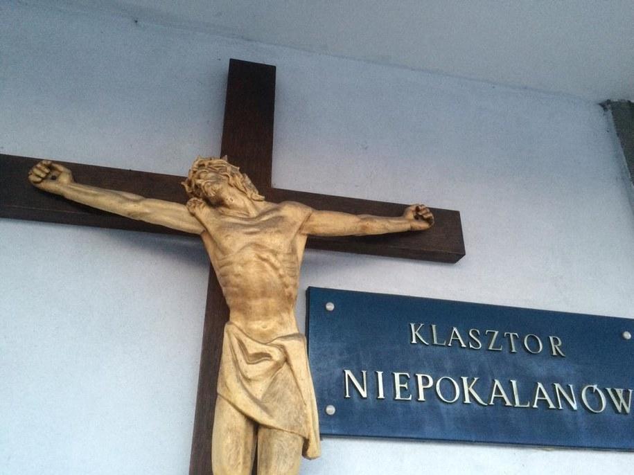 Wejście do klasztoru w mazowieckim Niepokalanowie /Michał Dobrołowicz /RMF FM