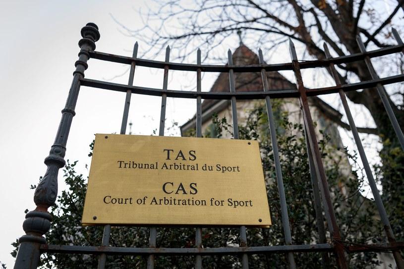 Wejście do Trybunału Arbitrażowego ds. Sportu w Lozannie /AFP