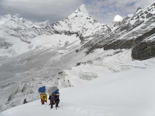 Wejście na Mera Peak (zdj. ilustracyjne) /AFP