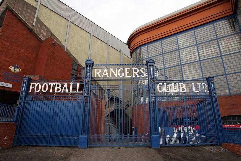 Wejście na stadion Glasgow Rangers /AFP