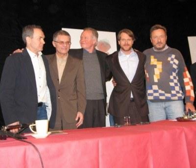 Weneanty Nosul ,Krzysztof Kolberger, Jon Voight, Cary Elwes i John Kent Harrison /INTERIA.PL