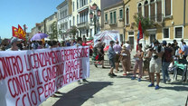 Wenecja: Protest w trakcie obrad ministrów finansów grupy G20