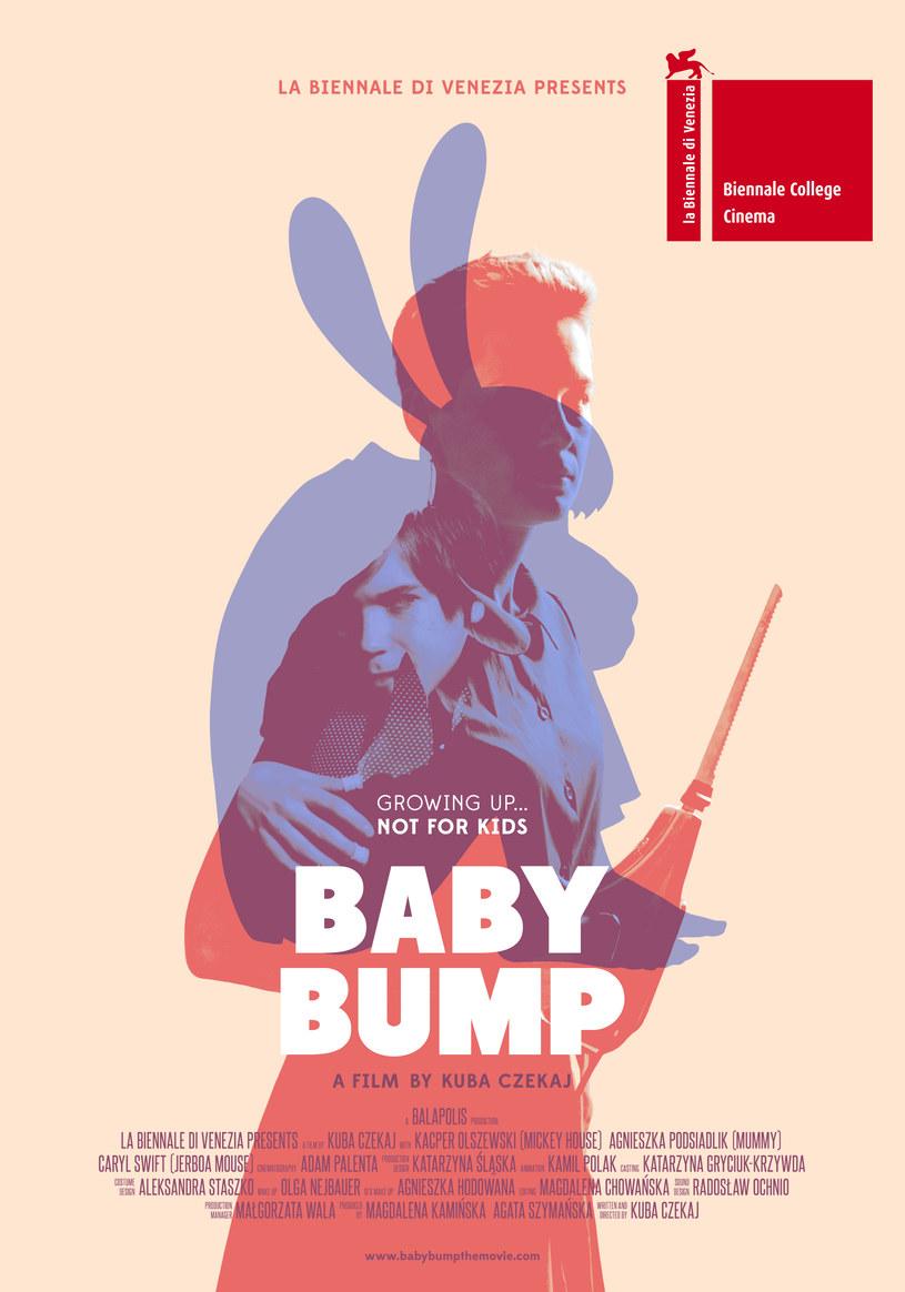 """Wenecki plakat flmu """"Baby Bump"""" /materiały prasowe"""