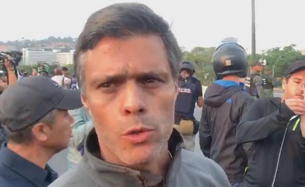 Wenezuela: Czołowy opozycjonista schronił się w rezydencji ambasadora Hiszpanii