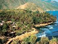 Wenezuela, wioska rybacka na wybrzeżu /Encyklopedia Internautica