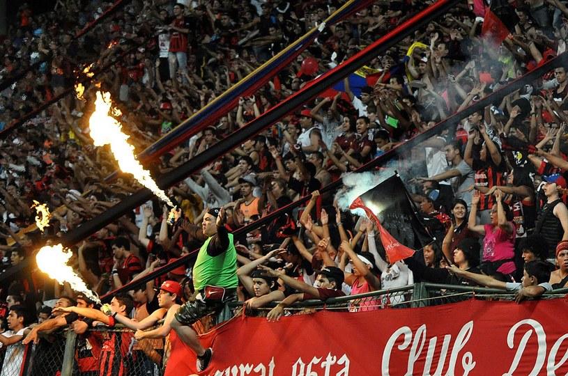 Wenezuelscy kibice Deportivo Lara /Debwinson Alvarez /AFP