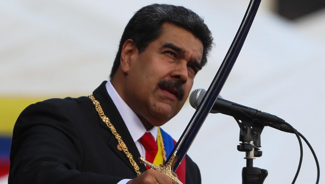 """Wenezuelska armia popiera Maduro. Deklarację Guaido nazywają """"zamachem stanu"""""""