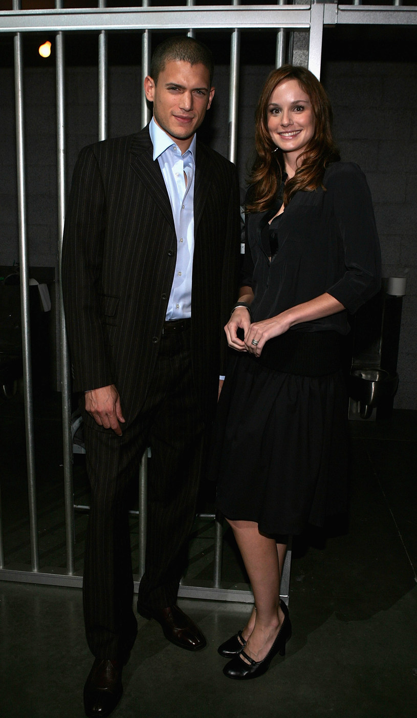 Wentworth Miller oraz Sarah Wayne Callies /Mark Mainz /Getty Images