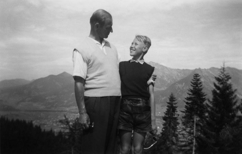 Werner Ventzki z synem Juergenem. Wakacje w Obersdorfie, lato 1956 r. Fot. © arch. Jens-Juergen Ventzki /Deutsche Welle