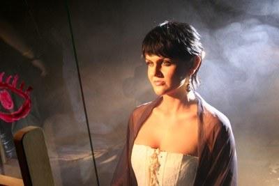 """Weronika Korthals (Ha-Dwa-O!) na planie teledysku """"Popatrz na mnie"""" /"""