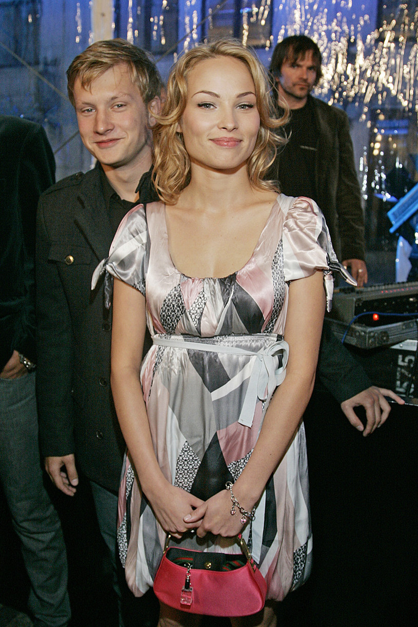 Weronika Książkiewicz i Kuba Wesołowski, 2007 rok /Kurnikowski /AKPA