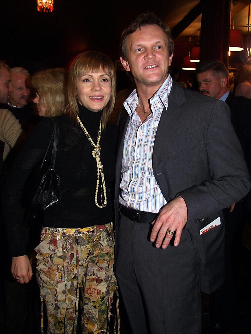 Weronika Marczuk byłą żoną Cezarego Pazury przez dwanaście lat. Rozstali się w 2007 roku /East News