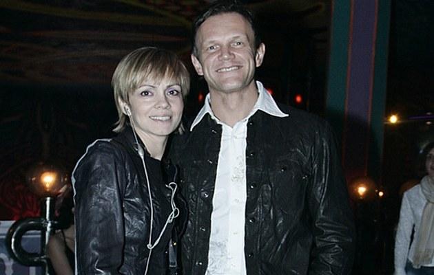 Weronika Marczuk i Cezary Pazura /Niemiec /AKPA