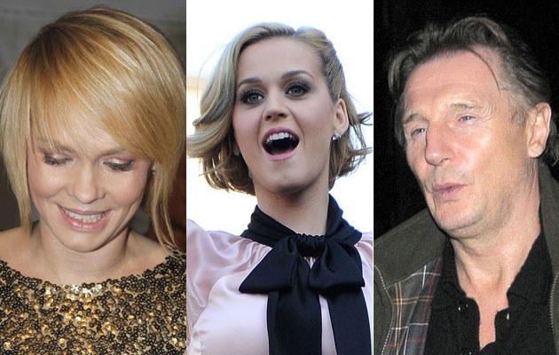 Weronika Marczuk/Katy Perry/Liam Neeson  /1. AKPA/J. Wojtalewicz; 2. Getty Images/Frazer Harrison; 3. Agencja FORUM /AKPA