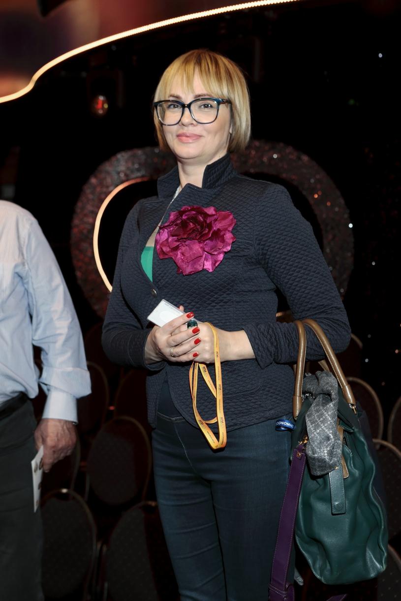 """Weronika Marczuk na planie """"Dancing with the Stars. Taniec z gwiazdami"""" w kwietniu 2019 roku /Adam Jankowski/REPORTER /East News"""