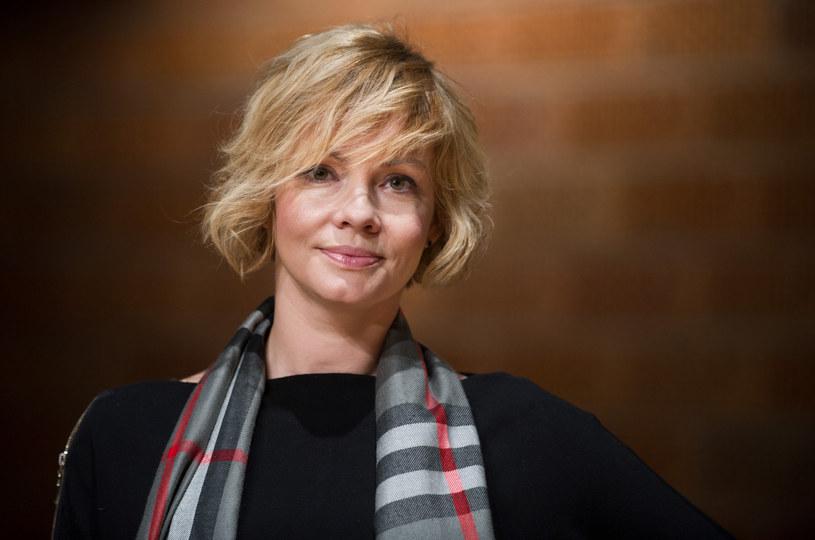 Weronika Marczuk niedawno została po raz pierwszy mamą /Bartosz Krupa /East News
