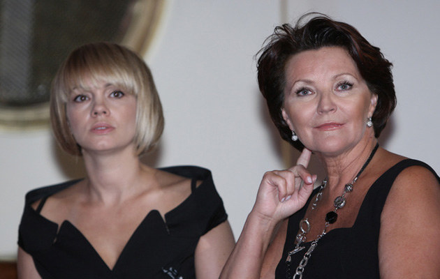 Weronika Marczuk-Pazura, Jolanta Kwaśniewska, fot.Bartosz Krupa  /East News