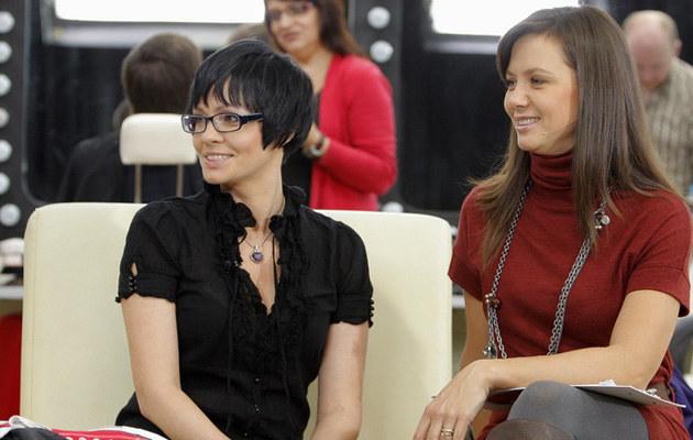 Weronika Marczuk-Pazura, Kinga Rusin, fot.Bartosz Krupa  /East News