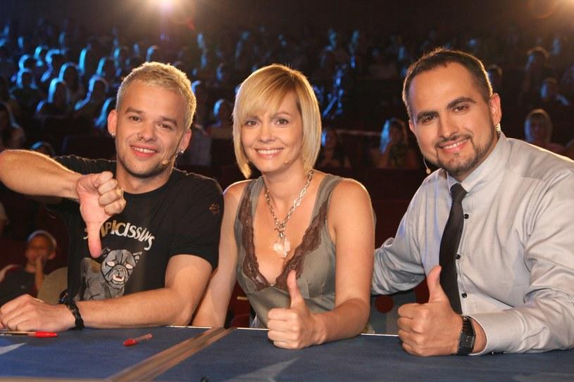 """Weronika Marczuk-Pazura w jury programy """"You Can Dance"""" (2008 rok) /Damian Klamka /East News"""