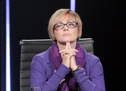 """Weronika Marczuk-Pazura w programie """"Teraz My"""" / fot. Wojciech Kurczewski /Agencja FORUM"""