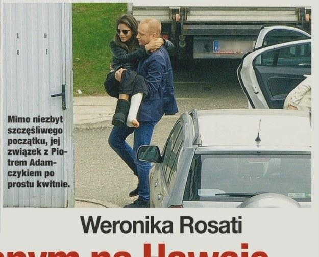 Weronika nadal z trudem się porusza! /- /Świat & Ludzie