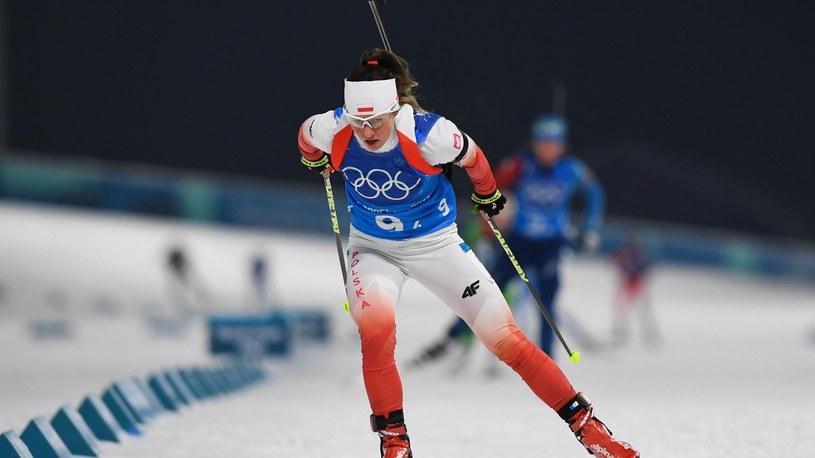 Weronika Nowakowska podczas igrzysk w Pjongczangu /Getty Images