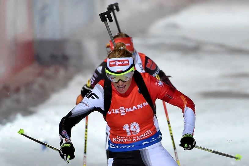 Weronika Nowakowska-Ziemniak (na pierwszym planie) /AFP