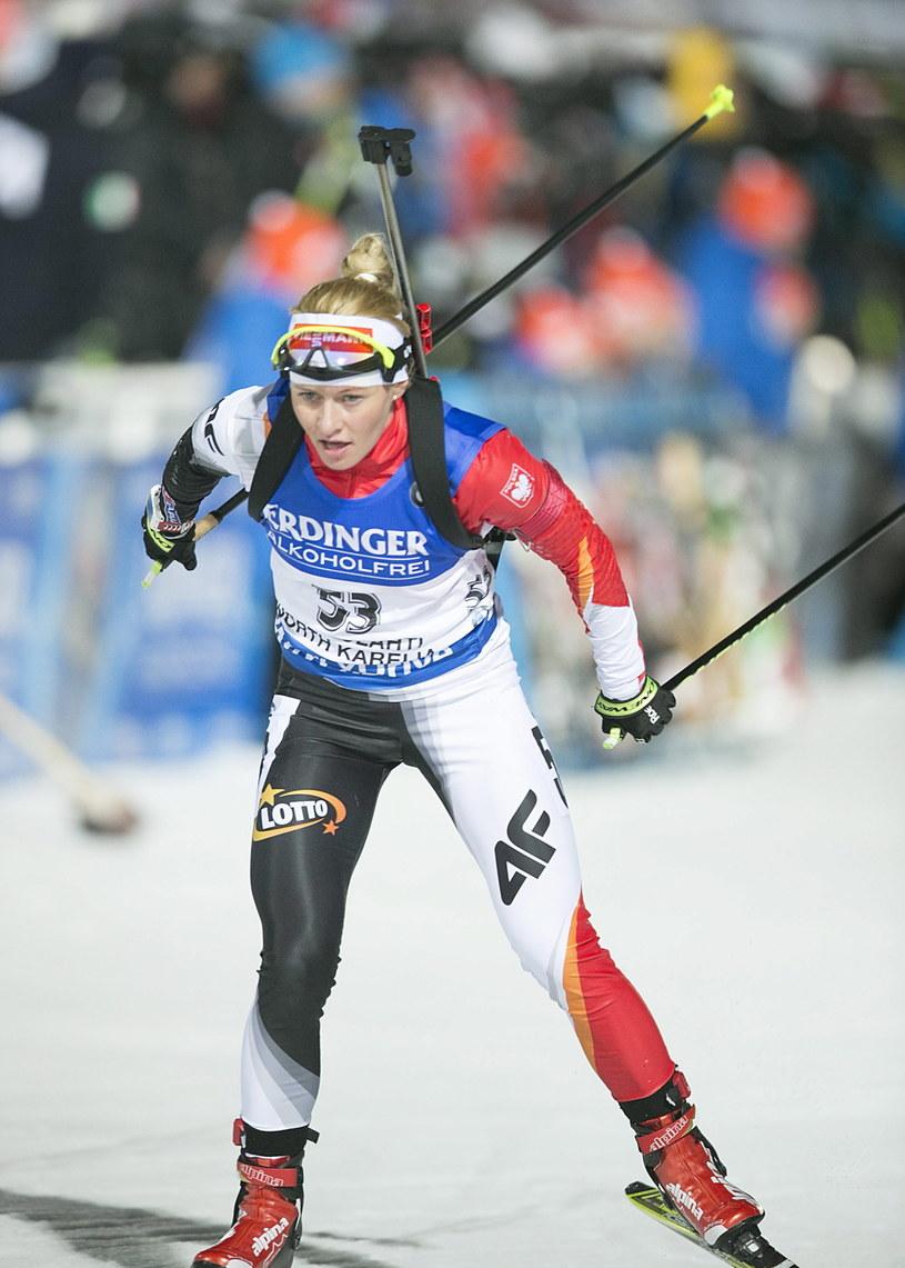 Weronika Nowakowska-Ziemniak w Kontiolahti zdobyła już dwa medale /PAP/EPA