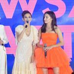 Weronika Rosati i Julia Wieniawa promują serial w oryginalnych kreacjach