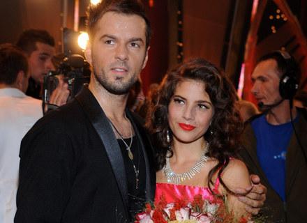 Weronika Rosati i Krzysztof Hulboj, fot. Andras Szilagyi /MWMedia