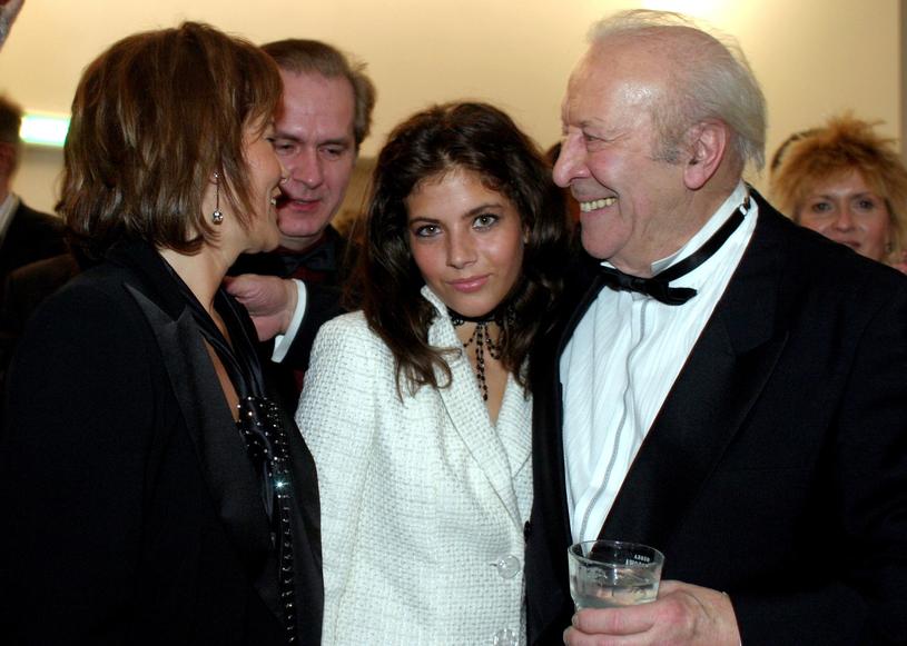 Weronika Rosati i Leon Niemczyk na gali wręćzenia Telekamer w 2009 roku /Tricolors /East News