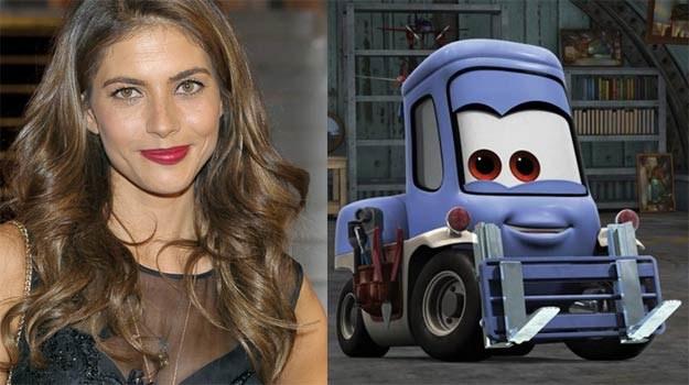 Weronika Rosati użyczy głosu postaci... wózka widłowego o imieniu Dottie. - fot. Disney /AKPA