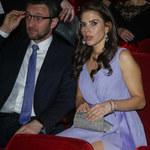 Weronika Rosati z ukochanym na imprezie