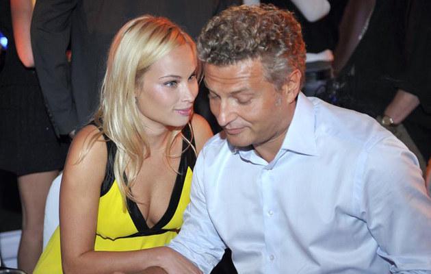 Weronika z Krzysztofem, fot. Jacek Kurnikowski  /AKPA