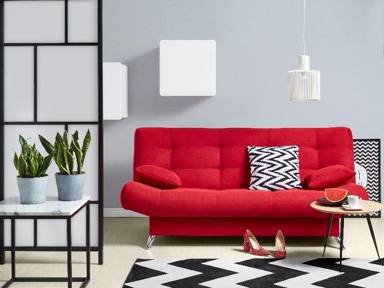 Wersalka Viola w kolorze intensywnej czerwieni /materiały promocyjne
