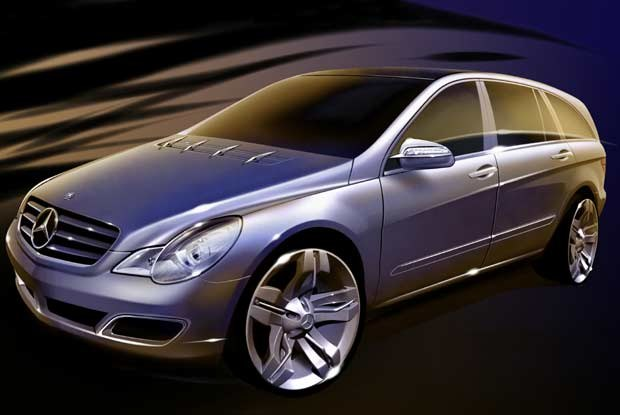 Wersja produkcyjna Mercedesa Vision GST /INTERIA.PL
