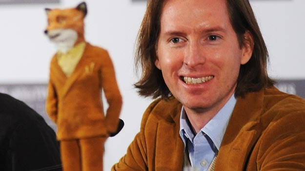 "Wes Anderson i jego alter ego - ""Fantastyczny Pan Lis"" - fot. Ian Gavan /Getty Images/Flash Press Media"
