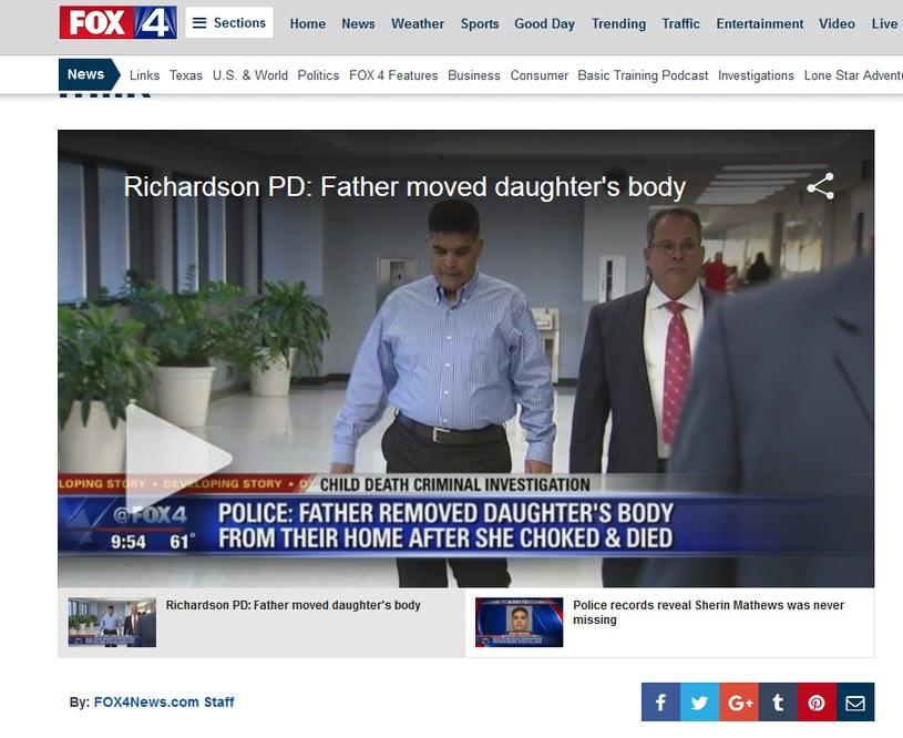 Wesley Matthews przyczynił się do śmierci córki /Fox 4 News /