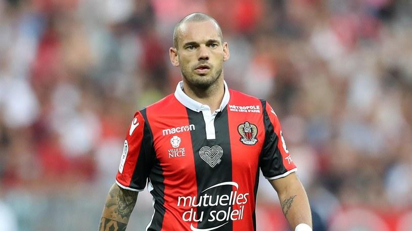 Wesley Sneijder OGC Nice /Eurosport