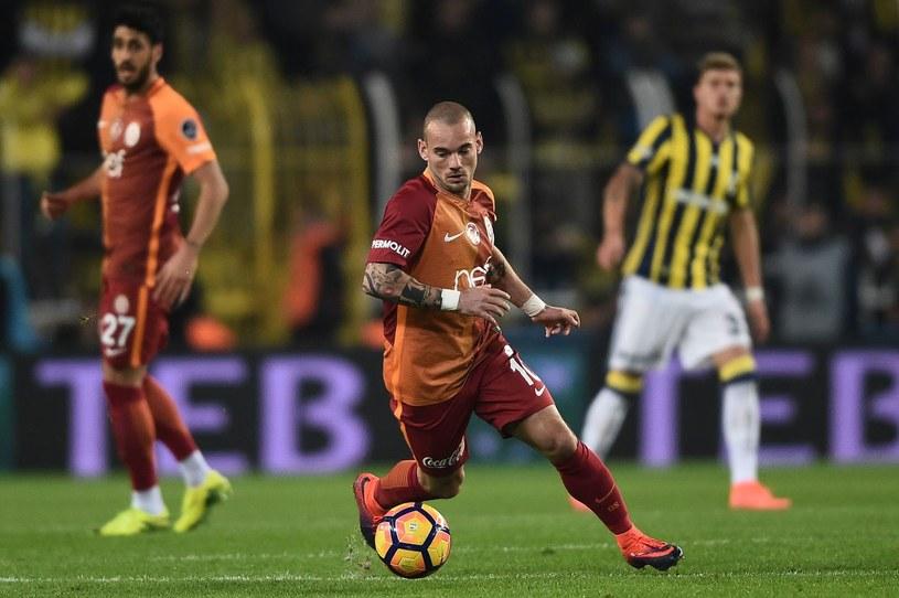 Wesley Sneijder /OZAN KOSE /AFP
