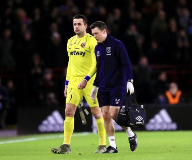 West Ham United. Łukasz Fabiański będzie pauzował tylko kilka tygodni