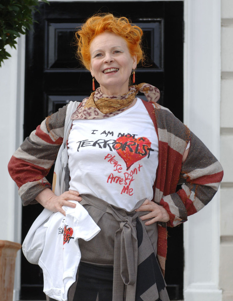 Westwood często podejmuje współpracę z organizacjami walczącymi o prawa człowieka /East News