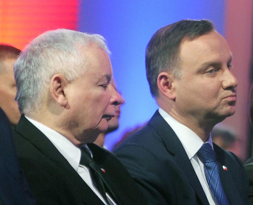 Weta Andrzeja Dudy wywróciły do góry nogami plan polityczny Jarosława Kaczyńskiego - pisze gazeta /Jan Bielecki /East News