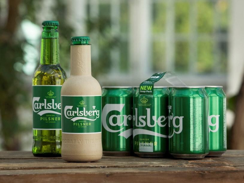 Wewnątrz butelka będzie miała cienką warstwę plastiku, który ma utrzymać płyn /Carlsberg / BEEM/Beem/East News /East News