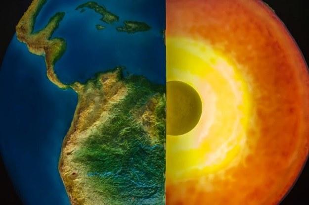 Wewnętrze jądro Ziemi obraca się na wschód, a zewnętrzne na zachód /123RF/PICSEL