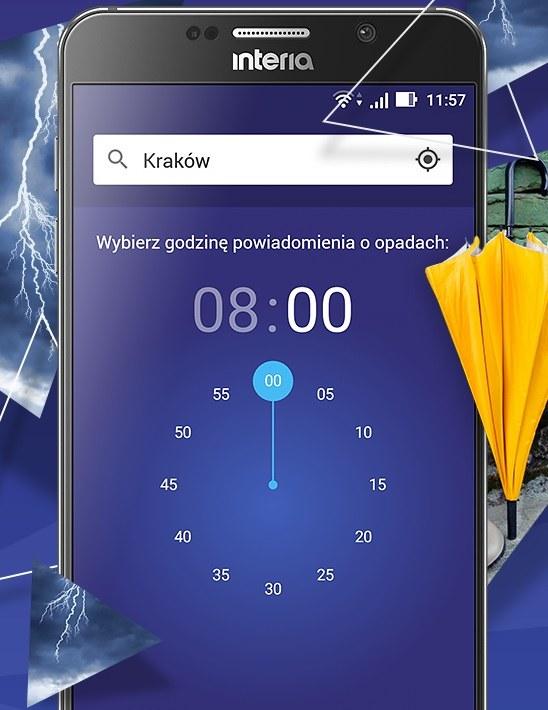 Weź parasol - aplikacja, dzięki której nigdy nie zmokniesz /INTERIA.PL