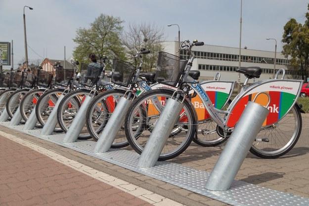 Weź rower, ale nie waż się wsiadać! /Krzysztof Kaniewski /Reporter
