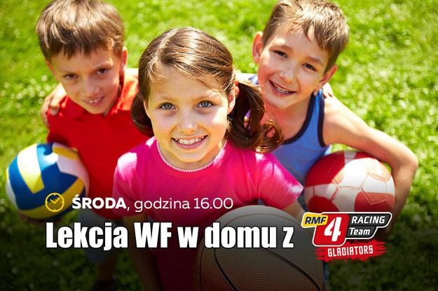 WF w domu - ćwicz i baw się razem z nami! (LIVE) /Materiały prasowe